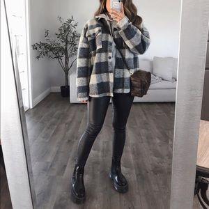 Flannel Oversized Shacket